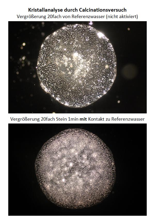 Kristallanalyse Quantenkraftstein